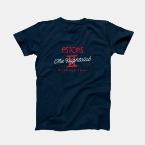 Astons Nightclub Bridgend T-Shirt