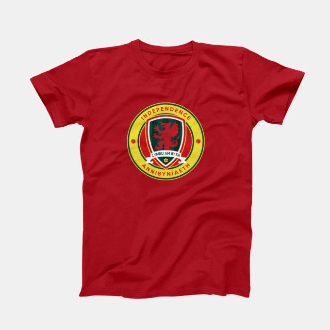 Indy Wales Fans Logo T-shirt
