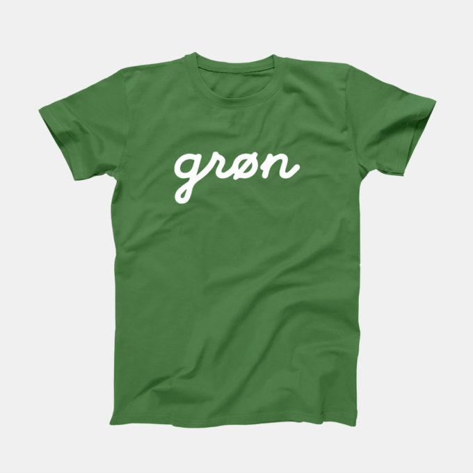 grøn Signature T-Shirt